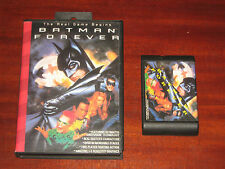 "CD DVD PLAY STATION SLOT "" BATMAN FOREVER "" The Real Game Begins"