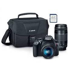 *BRAND NEW* Canon EOS Rebel T6 DSLR Camera PREMIUM KIT 18-55mm + 75-300mm Lens