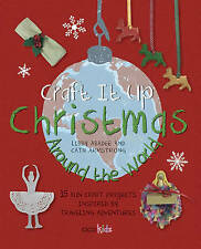 Craft It Up Christmas Around the World ' Abadee, L  New, free airmail worldwide