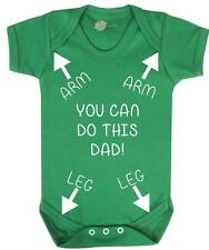 "Baby Vest / Grow "" You can do this Dad "" Funny / Strong-  Family Baby Grow"