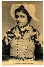 CPA 73 Savoie Costume de Savoie Fontcouverte
