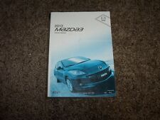 2013 Mazda3 User Guide Owner Manual i SV Sport Touring Grand s 2.0L 2.5L 4Cyl