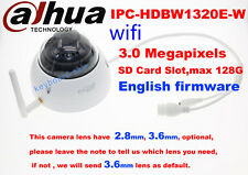 dahua Waterproof IPC-HDBW1320E-W 3MP Network IP 1080P Dome security wifi Camera