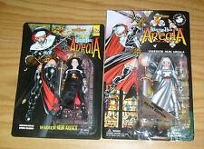 Warrior Nun Areala Action Figure Set - Silver Edition Anime Hanger 18 Exclusive