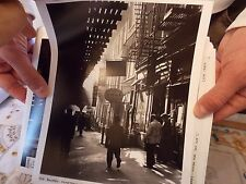 1940s Chinatwon Bowery Pedestrians  Third Av NYC New York City Chinese El Photo
