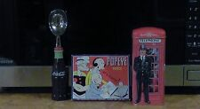 1933 King Features VINTAGE POPEYE PAINTS TIN BOX/PAINTS plus bank and scoop