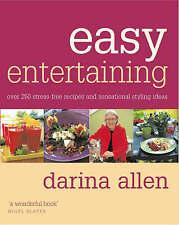 Easy Entertaining Darina Allen Very Good Book
