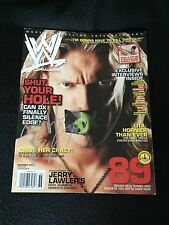EDGE SIGNED WWE MAGAZINE