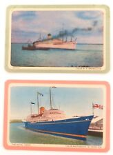 RARE COLES SWAP / PLAYING CARDS. NAMED. PART OF SAME SERIES. SHIPS.