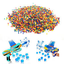 10000X Water Bullet Balls 9mm-11mm Jelly Beads Original Water Gel Beads