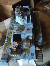 """Vintage 1986 Lanard Military TANK Vehicle 14"""" Toy """"MARAUDERS"""" 80's"""