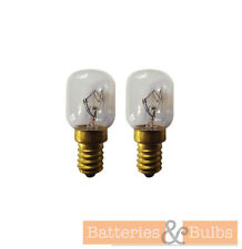 25w SES Small Screw Oven Bulb Lamp Light 300° Degree Crompton E14 240v x2