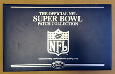 WILLABEE & WARD NFL SUPER BOWL PATCH COLLECTION ~ BINDER & 20 PAGES ~ No Patches