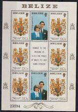 Belize  1981 Mf 521 matrimonio tra Carlo e Diana MNH