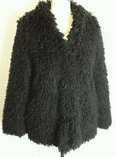 Dorothy perkins shaggy fur style jacket size 12