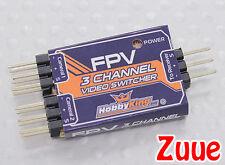 3 Canales Fpv Video Switcher-película entre Gopro y Consejo de la leva con un interruptor.