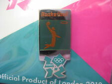London 2012 Olympic Pictogram Pin - Basketball