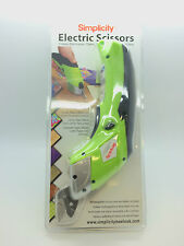 ELECTRIC Scissor CORDLESS CON 2 LAME semplicità ELECTRIC FORBICI RRP £ 59.99