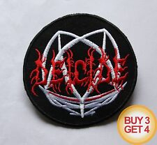 DEICIDE PATCH BUY3GET4,MORBID ANGEL,CANNIBAL CORPSE,AUTOPSY,DEATH METAL,VADER