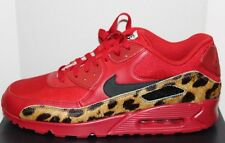 Nike NikeID AIR MAX 90 PREMIUM ID Gr. 46 Animal Print Red 807498 991