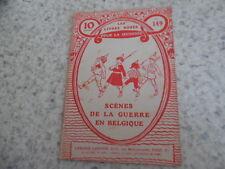 1916.Livres rose 149.Scènes guerre Belgique.Guerre 14-18.Guyon