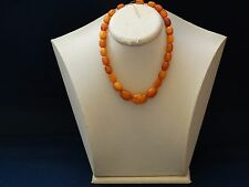 ANTIQUE VINTAGE NATURAL BALTIC AMBER BEADS REAL GENUINE BEADS 18 grams 老琥珀 No.LC