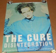 The Cure Disintigration Poster Original 1989 Promo 30x24