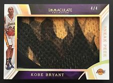 2015-16 Panini Immaculate Kobe Bryant Sneak Peek Nike Shoe Lakers 4/4