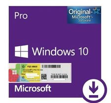 Licenza originale Windows 10 PRO 32/64 Bit Product KEY FAST *30 SECONDI*