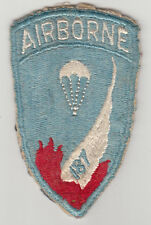 Wartime 187th Airborne Patch / Paratrooper Insignia