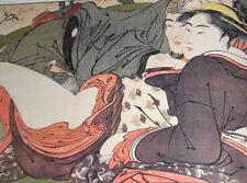 Japanese Ukiyo-e Print Art Book Shunga Edo Goyomi HARU HARUNOBU SHUNCHO KIYONAGA