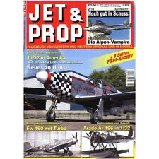 JET & PROP 2/11 Flugzeug Modellbau Tante Ju Focke-Wulf Messerschmitt Arado Yak-3