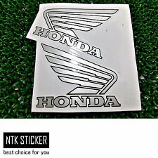 HRC Decals Sticker Honda Silver Wing  Metal RACING Motorcycle Big Bikers 219 2D