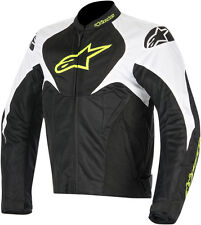 ALPINESTARS T-JAWS AIR Textile Motorcycle Jacket (Black/White/Yellow) M (Medium)