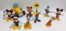 Mickey Mouse Clubhouse Friends Lot of 8 Figures Mickey, Donald, Goofy, and Pluto