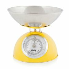 Cook Incolour 5kg Traditional Yellow Dome Kitchen Weighing Food Cooking Scale