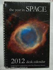The Year in Space 2012 Pictorial Desk Calendar NEW, NASA Hubble Telescope Images