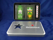 Heineken Beer Playing Cards Set NEW with Box