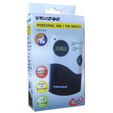 Omega 2045 Mini AM / FM Radio Eingebauter Lautsprecher Stereo-Ohrhörer Inbegriff