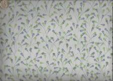 CF Stinson Whitney Periwinkle Contemporary Retro Mini Floral Upholstery Vinyl