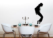 Michael Jackson Moonwalk Music Living Dining Bedroom Decal Wall Sticker Picture