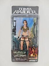 NECA Tomb Raider Player Select Lara Croft Stage 1 Figure Sealed MOC