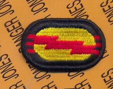 US Army 3rd Bn 75th Infantry Regt. Airborne Ranger para oval patch m/e