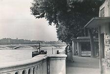 LYON c. 1940 - Les Quais  Le Pont Wilson  Rhône - DIV 7500