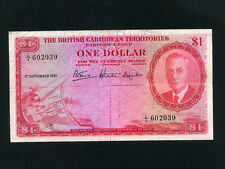 British Caribbean Ter.:P-1,1$,1951 * King George VI * VF *