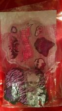 McDonald's MONSTER HIGH Happy Meal  2014 toy #7 Clawsome Magnet Clip + stickers