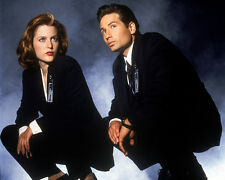 David Duchovny & Gillian Anderson (11829) 8x10 Photo