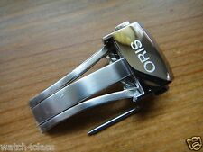 ORIS Artelier s/steel Deployant Buckle/clasp,18mm #07321840 for leather strap