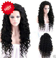 Vogue Daily Black Long Curly Wavy Hot Women Heat Resistant Copslay Full Hair Wig