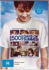 500 Days of Summer * NEW DVD * Zooey Deschanel Joseph Gordon-Levitt